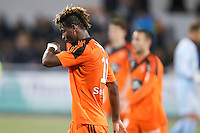 Deception Didier NDONG - 18.04.2015 - Lorient / Toulouse - 33eme journee de Ligue 1<br />
