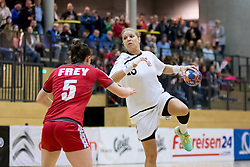16.03.2017, Josef Welser Sporthalle Tulln, Tulln an der Donau, AUT, Handball Testspiel, Österreich vs Tschechische Republik, im Bild 16.03.2017, Josef Welser Sporthalle Tulln, Tulln an der Donau, AUT, Handball Testspiel, Österreich vs Tschechische Republik, im Bild Michaela Hrbkova (CZE) // during a women' s international friendly handball match between Austria and Czech Republic at the Josef Welser Sporthalle Tulln, Tulln an der Donau, Austria on 2017/03/16, EXPA Pictures © 2017, PhotoCredit: EXPA/ Sebastian Pucher // during a women' s  international friendly handball match between Austria and Czech Republic at the Josef Welser Sporthalle Tulln, Tulln an der Donau, Austria on 2017/03/16, EXPA Pictures © 2017, PhotoCredit: EXPA/ Sebastian Pucher
