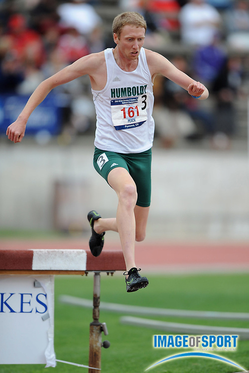 May 24, 2008; Walnut, CA, USA;  i Jasper Peach of Humboldt State was third in the steeplechase in 9:02.13 in the NCAA Division II Track & Field Championships at Mt. San Antonio College's Hilmer Lodge Stadium.