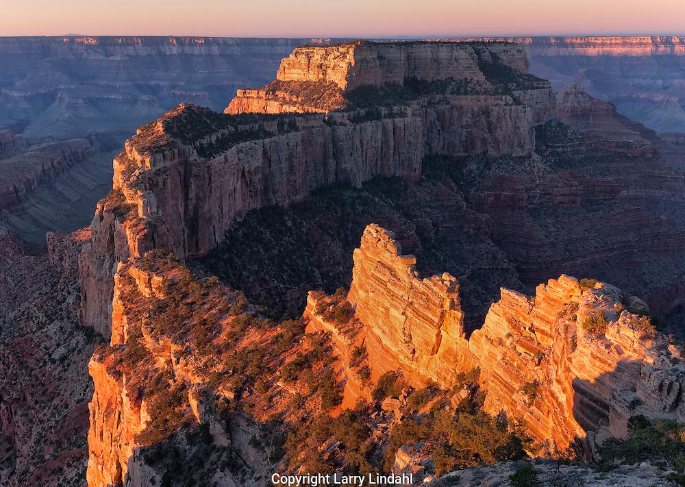 Cape Royal, sunrise, Grand Canyon, North Rim, AZ