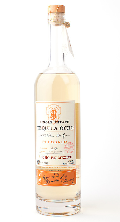 Tequila Ocho reposado 2009 -- Image originally appeared in the Tequila Matchmaker: http://tequilamatchmaker.com