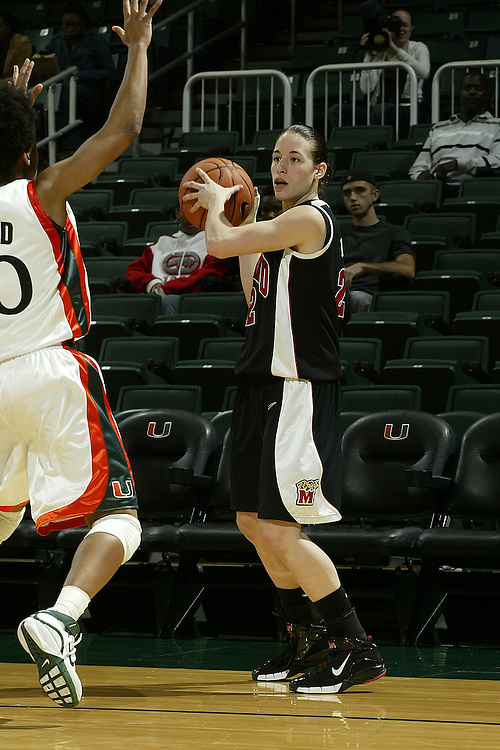 University of Maryland guard Shay Doron in action during the Terrapins 111-53 victory over the Miami Hurricanes on January 10, 2007 at the BankUnited Center in Coral Gables, Florida.