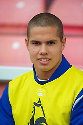 STOKE, ENGLAND - Saturday, May 1, 2010: Everton's Jack Rodwell before the Premiership match against Stoke City at Britannia Stadium. (Photo by David Rawcliffe/Propaganda)