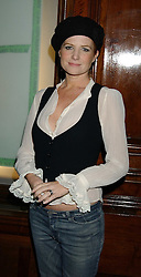 Actress PATSY PALMER at Reach 4 Fashion 2005 in aid of the REACH Leukaemia Appeal hosted by designers Sadie Frost and Jemima French of fashion label FrostFrench held at 88 St.James' Street, London SW1 on 8th November 2005.<br /><br />NON EXCLUSIVE - WORLD RIGHTS