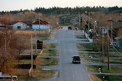 CANADA ALBERTA FORT CHIPEWYAN 11MAY07 - General view of Fort Chipewyan, nothern Alberta, Canada...jre/Photo by Jiri Rezac / WWF-UK..© Jiri Rezac 2007..Contact: +44 (0) 7050 110 417.Mobile: +44 (0) 7801 337 683.Office: +44 (0) 20 8968 9635..Email: jiri@jirirezac.com.Web: www.jirirezac.com..© All images Jiri Rezac 2007 - All rights reserved.