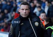 Millwall Manager Neil Harris before the Sky Bet League 1 match between Millwall and Colchester United at The Den, London, England on 21 November 2015. Photo by Andy Walter.