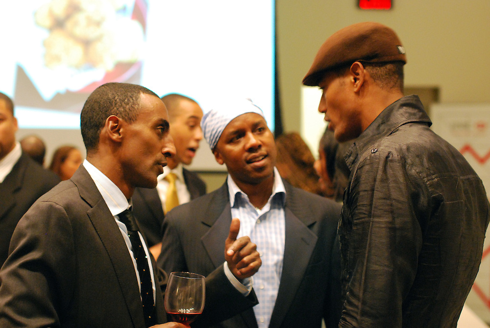 New York City, October 29, 2009. Marcus Samuelsson book signing event, celebrating the release of The New American Table.