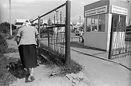 Transdnestria, 17/07/2004: Moldova border - confine con la Moldavia