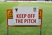 AFC Wimbledon pitch during the EFL Cup match between AFC Wimbledon and Brentford at the Cherry Red Records Stadium, Kingston, England on 8 August 2017. Photo by Matthew Redman.