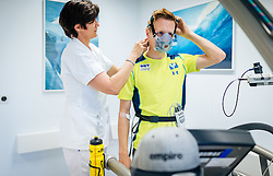 02.05.2016, Bezirkskrankenhaus, St. Johann i.T., AUT, OeSV, Skisprung, Sportmedizinische Untersuchung, im Bild Markus Schiffner (AUT) // Markus Schiffner of Austria undergoes his medical examination of the Austrian Skijumping Team at the Sports Medicine Institute, St. Johann i.T. on 2016/05/02. EXPA Pictures © 2016, PhotoCredit: EXPA/ JFK