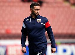 Bristol City assistant head coach Jamie McAllister - Mandatory by-line: Robbie Stephenson/JMP - 30/03/2018 - FOOTBALL - Oakwell Stadium - Barnsley, England - Barnsley v Bristol City - Sky Bet Championship