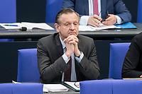 14 FEB 2019, BERLIN/GERMANY:<br /> Kay Gottschalk, MdB, AfD, Bundestagsdebatte, Plenum, Deutscher Bundestag<br /> IMAGE: 20190214-01-055<br /> KEYWORDS: Bundestag, Debatte