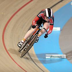17-12-2016: Wielrennen: NK baanwielrennen: Apeldoorn<br /> APELDOORN (NED) wielrennen    <br /> Hetty van der Wouw in kwalificatie sprint