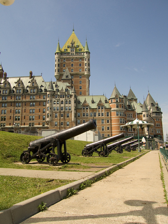 Cannons in Quebec City, Canada