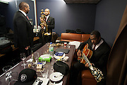 The Blue Note  Tokyo, Count Bassie Orchestra backstage