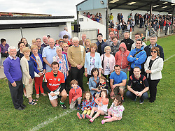 Extended members of the O'Dea family pictured in Kilmaine at the Padraig O'Dea Memorial Cup match between Kilmaine and Kingdom Kerry Gaels on saturday evening last.<br /> Pic Conor McKeown