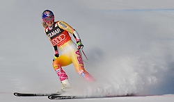 15.01.2012, Pista Olympia delle Tofane, Cortina, ITA, FIS Weltcup Ski Alpin, Damen, Super G, im Bild Lindsey Vonn (USA, Rang 1) // first place Lindsey Vonn of USA during superG race of FIS Ski Alpine World Cup at 'Pista Olympia delle Tofane' course in Cortina, Italy on 2012/01/15. EXPA Pictures © 2012, PhotoCredit: EXPA/ Erich Spiess