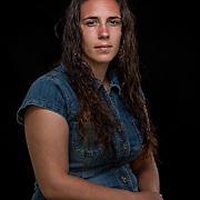Contessa Sancho, Monacan.  Head lady dancer. Portraits at the Monacan Powwow.  Elon, VA.  Saturday, May 16, 2015.  John Boal Photography