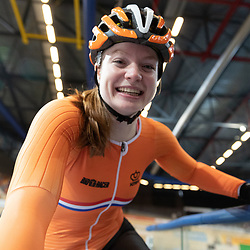 15-10-2019: Cycling: EC track: Apeldoorn  <br />Steffie van der Peet