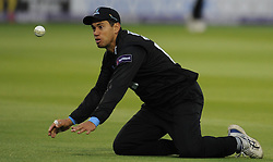 Sussex's Ross Taylor drops a catch.  - Mandatory by-line: Alex Davidson/JMP - 01/06/2016 - CRICKET - The 1st Central County Ground - Hove, United Kingdom - Sussex v Somerset - NatWest T20 Blast