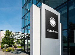 Studio Berlin building in Media area of  Adlershof Science and Technology Park  Park in Berlin, Germany