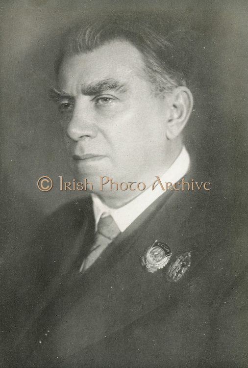 Reinhold Ernst Gliere (1875-1956) Russian and Soviet composer of German-Polish descent.