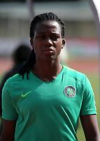 International Women's Friendly Matchs 2019 / <br /> Womens's Cyprus Cup Tournament 2019 - <br /> Nigeria v Thailand 3-0 ( Tasos Marko Stadium - Paralimni,Cyprus ) - <br /> Chiamaka Nnadozie of Nigeria