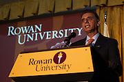Dr. Ali Houshmand - Henry Rowan Statue Unvailing at Rowan University in Glassboro, NJ on Thursday December 13, 2012. (photo / Mat Boyle)