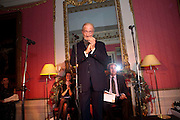 CHARLES DANCE, The 2009 Literary Review Bad sex in Fiction award. In and Out Club. St. James's Sq. London. 30 November 2009