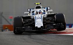 November 23, 2018 - Abu Dhabi, United Arab Emirates - #35 Sergey Sirotkin (RUS Williams Mercedes, Mercedes) during practice prixr to FIA Formula One World Championship 2018, Grand Prix of Abu Dhabi. (Credit Image: © Hoch Zwei via ZUMA Wire)