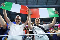 I TIFOSI DELL'ITALIA<br /> ITALIA - SERBIA<br /> PALLAVOLO VNL VOLLEYBALL NATIONS LEAGUE 2019<br /> MILANO 21-06-2019<br /> FOTO GALBIATI - RUBIN