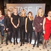 NLD/Amsterdam/20151102 - Boekpresentatie Extase, Heleen van Royen, Georgina Verbaan en Haline Reijn, Patricia Snel, Daphne Deckers, Susan Smit, Chantal van Gastel, Myrthe van der Meer en Milou van der Will.