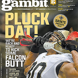 Gambit 2014 Cover - Jimmy Graham - Saints
