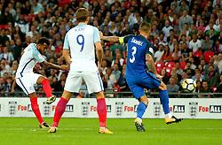 Ryan Bertrand of England shoots at goal - Mandatory by-line: Robbie Stephenson/JMP - 04/09/2017 - FOOTBALL - Wembley Stadium - London, United Kingdom - England v Slovakia - 2018 FIFA World Cup Qualifier