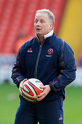 SHEFFIELD, ENGLAND - Saturday, March 1, 2008: Sheffield United's manager Kevin Blackwell before the League Championship match against Charlton Athletic at Bramall Lane. (Photo by David Rawcliffe/Propaganda)