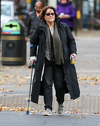 © Licensed to London News Pictures. 20/11/2019. London, UK. Activist Amy Dalla Mura arrives at Westminster Magistrates' Court: accused of harassing MP Anna Soubry party leader of Change UK – The Independent Group. Alex Lentati/LNP