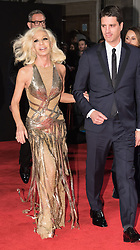 © Licensed to London News Pictures. 05/12/2016. DONATELLA VERSACE arrives for The Fashion Awards 2016 celebrating the best of British and international fashion. London, UK. Photo credit: Ray Tang/LNP