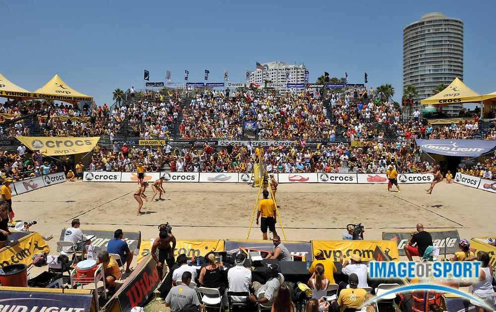 Jul 27, 2008; Long Beach, CA, USA: General view of the AVP Long Beach Open at Marina Green Park. Mandatory Credit: Kirby Lee/Image of Sport-US PRESSWIRE