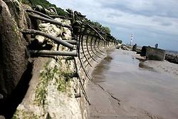 GERMANY HAMBURG 18MAY14 - Shipwreck on the beach of the Elbe river in Hamburg Blankenese.<br /> <br /> <br /> <br /> jre/Photo by Jiri Rezac<br /> <br /> <br /> <br /> © Jiri Rezac 2014