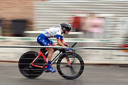 Clara Copponi (ITA) at La Madrid Challenge by La Vuelta 2019 - Stage 1, a 9.3 km individual time trial in Boadilla del Monte, Spain on September 14, 2019. Photo by Sean Robinson/velofocus.com