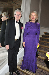 The EARL & COUNTESS OF MEXBOROUGH at Brazil Now a gala ball in aid of the Red Cross held at the Grand Connaught Rooms, 61-65 Queen Street, London on 6th November 2012.