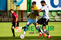 Nino Zugelj of NK Bravo vs Denis Cerovec  of NK Koper during football match between NK Bravo and NK Koper in 4th Round of Prva liga Telekom Slovenije 2020/21, on September 19, 2020 in Sport park ZAK, Ljubljana, Slovenia. Photo by Grega Valancic / Sportida