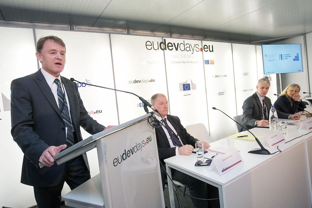 04 June 2015 - Belgium - Brussels - European Development Days - EDD - Financing - Unlocking private and public finance for sustainable growth - Manuel Sager , Director-General of the Swiss Agency for Development and Cooperation (SDC) , Ambassador © European Union
