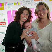 NLD/Amsterdam/20130530 - Mom's moment , Barbara Barend met partner Alette Bastiaansen en dochter Livia