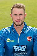 Alex Blake of Kent  during the Kent County Cricket Club Headshots 2017 Press Day at the Spitfire Ground, Canterbury, United Kingdom on 31 March 2017. Photo by Martin Cole.