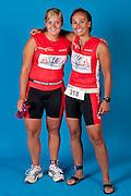 Mutter und Tochter Triatletinnen
