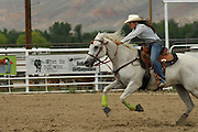 Cowgirl, girl, teen, teenager, Barrel racing, Rodeo, Salmon, Idaho
