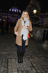 ROMOLA GARAI at the opening of the 2012 Somerset House Ice Rink on 15th November 2012.