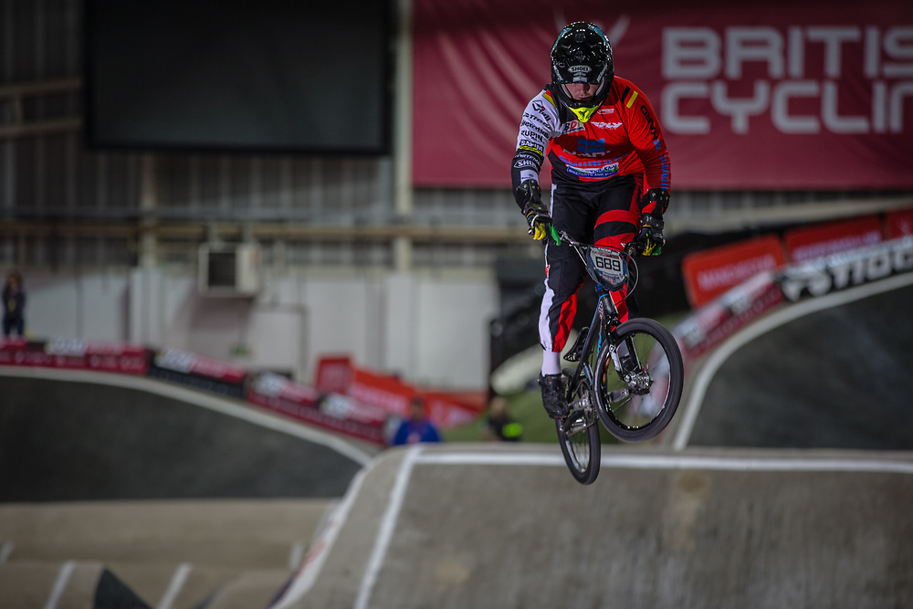 #689 (BAIER Maik) GER at the 2016 UCI BMX Supercross World Cup in Manchester, United Kingdom<br /> <br /> A high res version of this image can be purchased for editorial, advertising and social media use on CraigDutton.com<br /> <br /> http://www.craigdutton.com/library/index.php?module=media&pId=100&category=gallery/cycling/bmx/SXWC_Manchester_2016