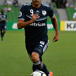 Kosta Barbarouses of Melbourne Victory FC - (2:2 at half time) - AFC Champions League, 13 February 2018, Group F, Melbourne Victory FC v Ulsan Hyundai at Melbourne Rectangular Stadium (Aami Park), Australia |© Mark Avellino | SportPix.org.uk